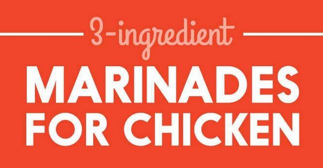 Adobos simples para ahorrar cena de pollo, ver más en http://artesaniasdebricolaje.ru/simple-marinades-to-save-chicken-dinner