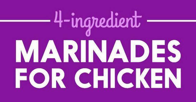 Adobos simples para ahorrar cena de pollo, ver más en http://artesaniasdebricolaje.ru/simple-marinades-to-save-chicken-dinner