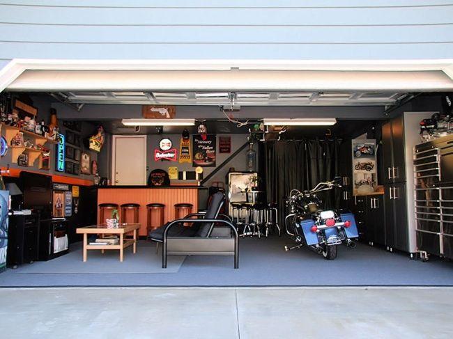 Fotografía - Soluciones simples para un garaje más habitable