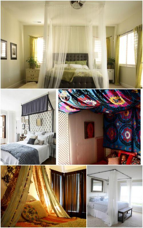 Fotografía - Dormir en lujo absoluto con estos 23 magníficos Proyectos Canopy Bed DIY