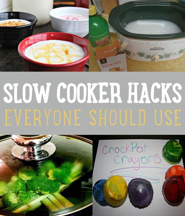 Fotografía - Slow Cooker Hacks Cada familia ocupada debe utilizar