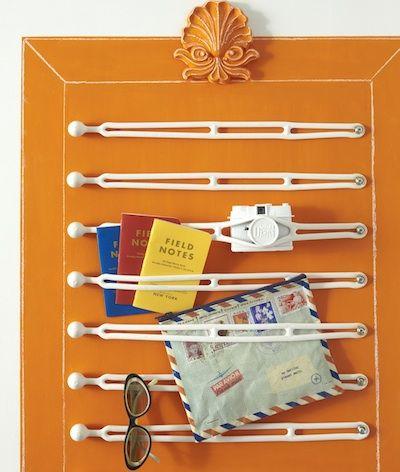 Pequeño espacio de soluciones de almacenamiento - Caucho canotaje correas