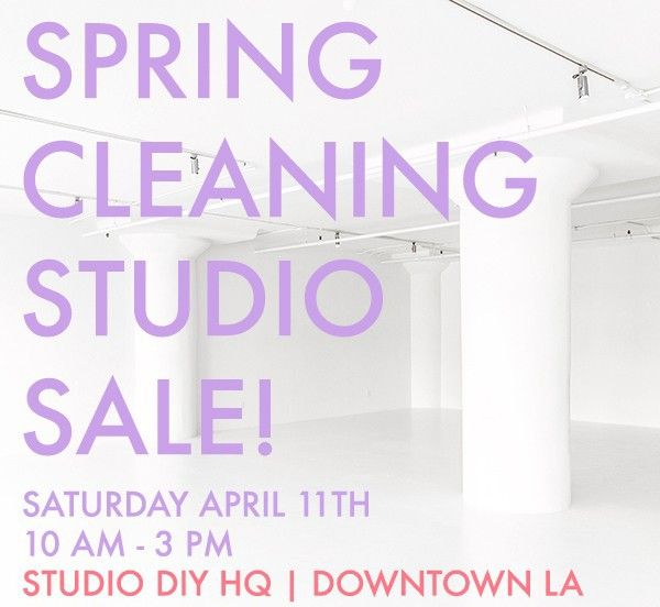 Fotografía - HQ DIY Estudio Spring Cleaning Venta!