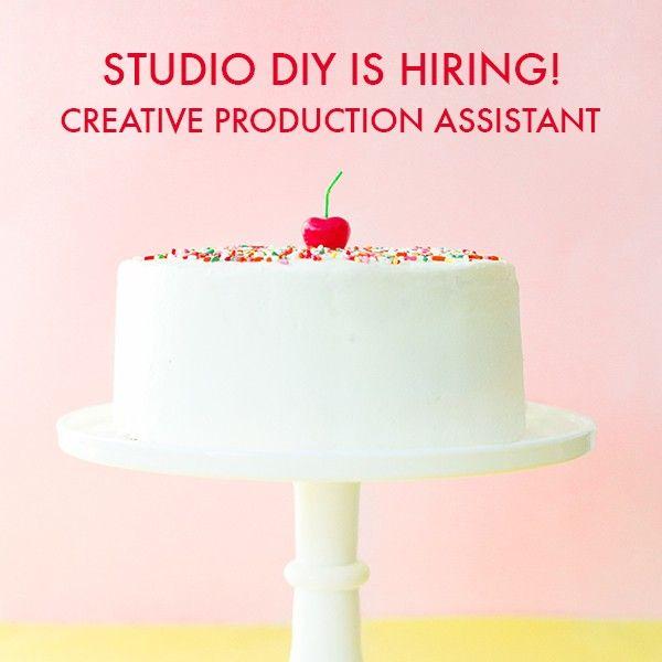 Fotografía - Estudio DIY se Contratar - Asistente de producción creativa!