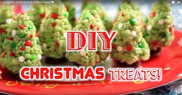 Fotografía - Súper Fácil Último Minuto de Navidad Recetas Treats [VIDEO]