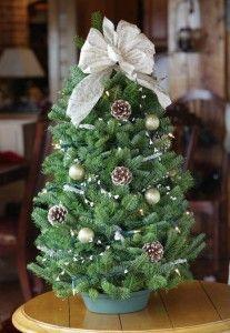 Mesa Árbol de Navidad de Brookstone