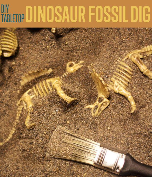 Fotografía - Dinosaurio Sobremesa Fossil Dig | Dino Dig Juego