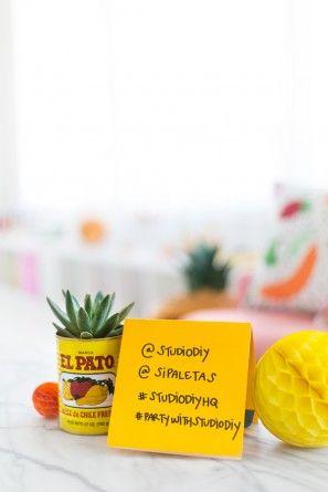 Taller de bricolaje Taco Piñata