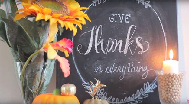 Ideas de Acción de Gracias que adorna con Dollar Store Artículos, échale un vistazo a http://artesaniasdebricolaje.ru/thanksgiving-decorating-ideas-with-dollar-store-goodies-video