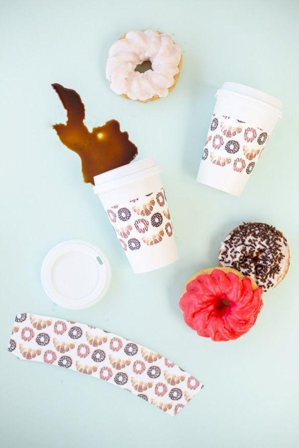 Café + Donuts (Imprimibles Gratis!)