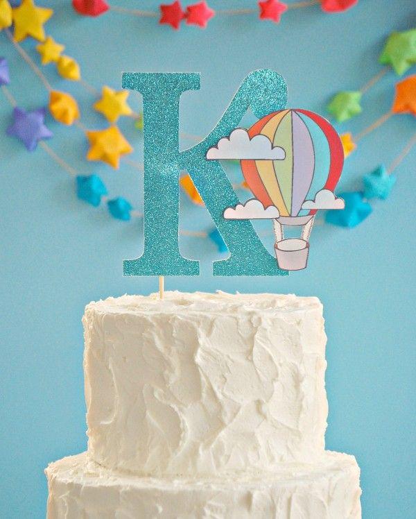 Globo aerostático de la torta