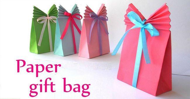 Fotografía - ¡Eso es un envoltorio! Cómo hacer tu propia bolsa de regalo (Es tan fácil!)