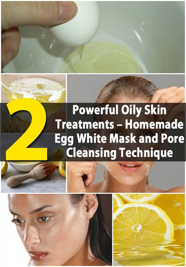 Los 2 más potentes tratamientos Pieles Grasas - Hecho en casa Huevo Máscara Blanca y Pore Cleansing Técnica