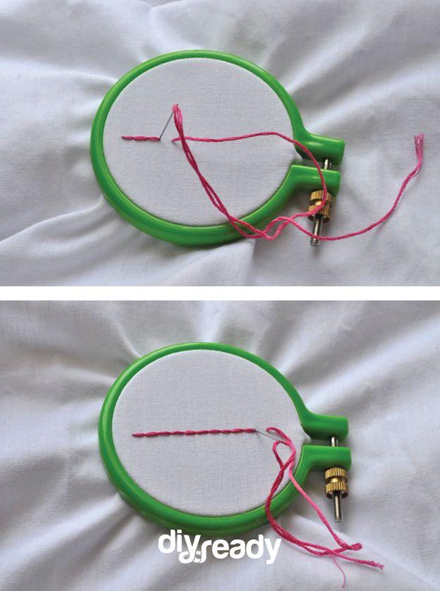 Fotografía - El Pespunte | Bricolaje Bordado puntos de sutura