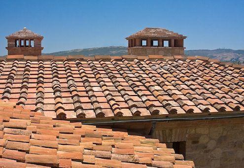 Fotografía - Lo básico: la arcilla y tejas de hormigón