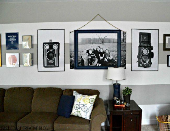 Fotografía - La Opción de arte de la pared barato para sus paredes desnudas