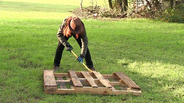 Fotografía - La manera fácil de deconstruir un palé