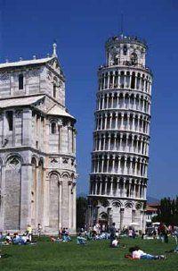 Fotografía - La torre inclinada de pisa