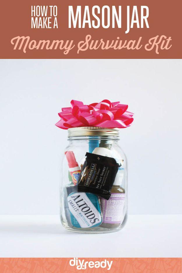 Fotografía - Los Oficios Jar Ulimate Mason: Kit DIY mamá Supervivencia