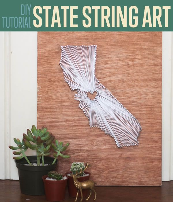 Fotografía - Este DIY Cuerda Arte Tutorial Oficios increíble Decoración