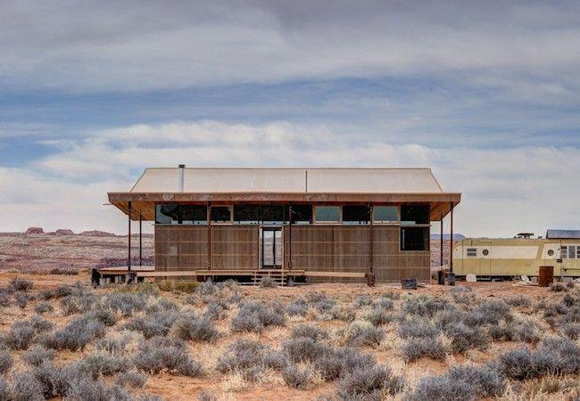 Fotografía - Esta casa en Navajo Nation viste un sombrero