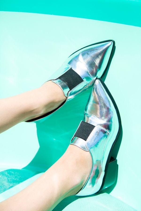 Zapatos metálicos! | artesaniasdebricolaje.ru