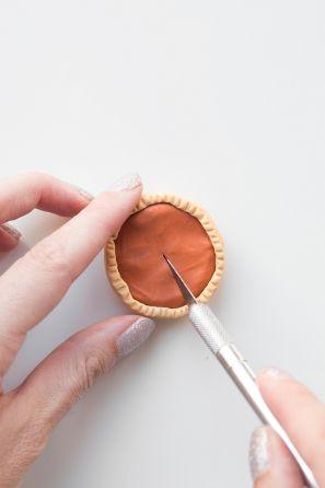 DIY Pumpkin Pie Amistad Collares | artesaniasdebricolaje.ru