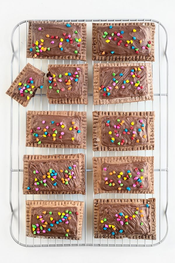Cosmic Brownie Pop Tarts   artesaniasdebricolaje.ru
