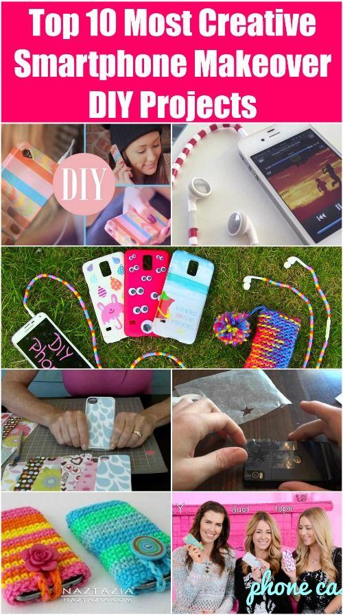 Fotografía - Top 10 Creativas Smartphone Makeover bricolaje proyectos más