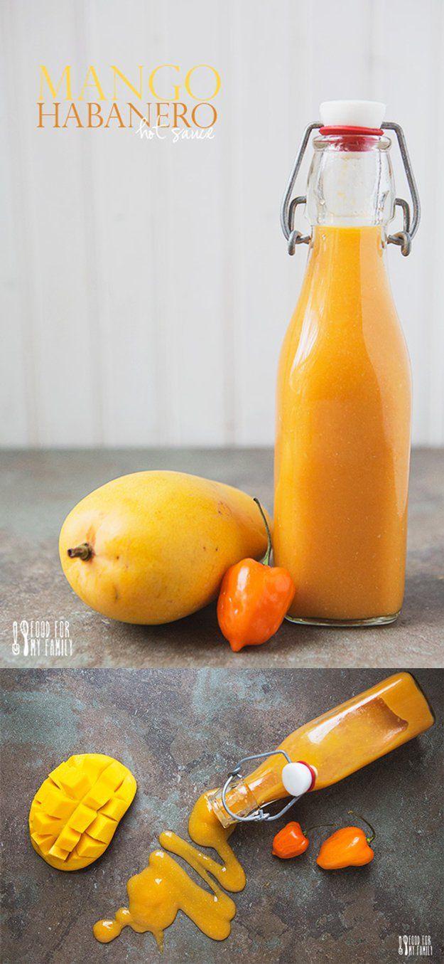 Ideas Salsa Habanero calientes hechos en casa | http://artesaniasdebricolaje.ru/top-14-hot-sauce-recipes/
