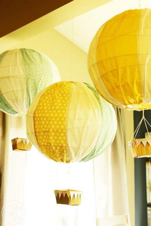 Prueba esto: Hot Air Balloons - Top 28 más adorable bricolaje Proyectos bebés de todos los tiempos