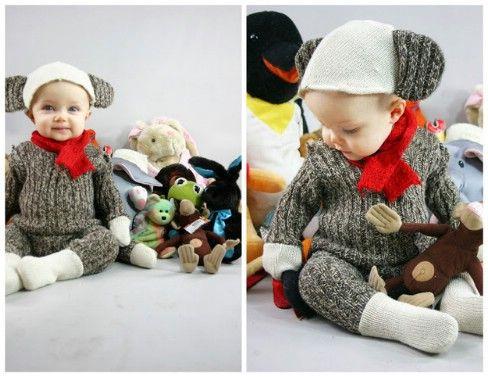DIY del mono del traje - Top 28 más adorable bricolaje Proyectos bebés de todos los tiempos