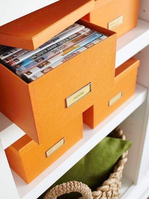 DVDs Tienda en Cajas - Top 58 La mayoría de las ideas caseras-Organizar creativas y proyectos de bricolaje
