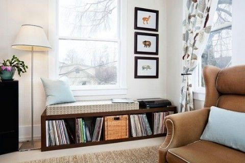 Guarde sus registros decorativo - Top 58 ideas más creativas Home-Organización y Proyectos de bricolaje