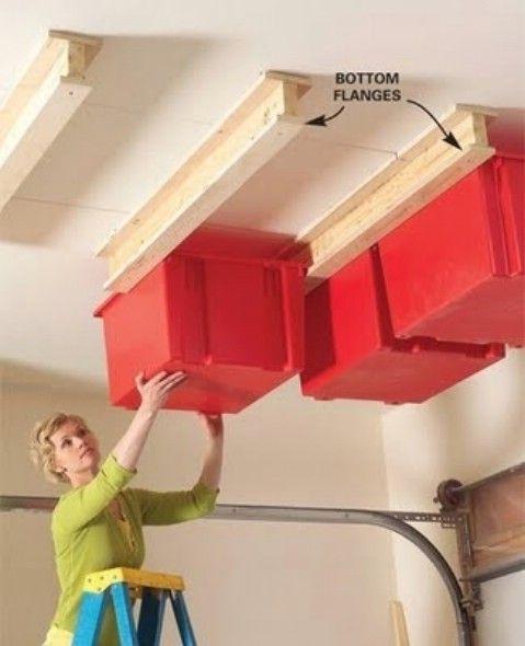 DIY deslizante Sistema de Almacenamiento Por Garaje - Top 58 ideas más creativas Home-Organización y Proyectos de bricolaje