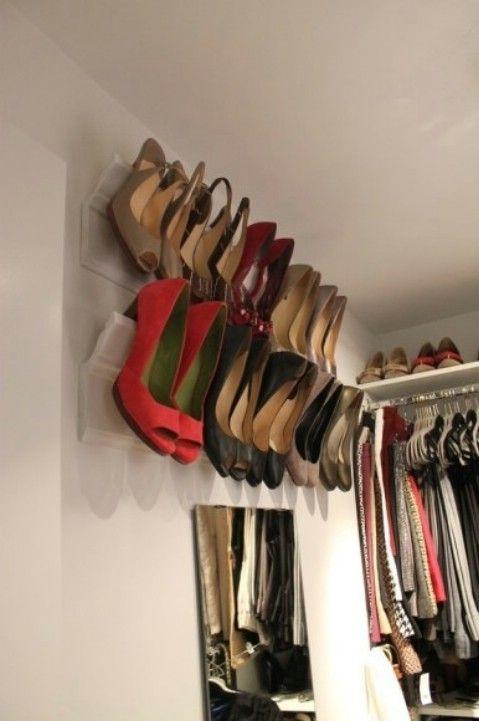 Pared / Closet adjunta Viga Corona de sindicación Zapatos - Top 58 más creativos Home-La organización de ideas y proyectos de bricolaje