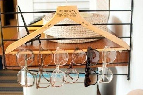 Utilice una suspensión de guardar Eyewear - Top 58 La mayoría de las Ideas creativas de Home-Organización y Proyectos de bricolaje