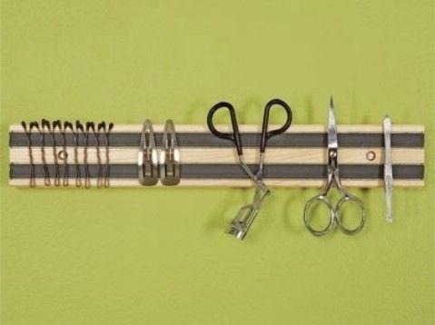 Adjuntar Herramientas de higiene a un estante magnético - Top 58 más Ideas creativas de Home-Organización y Proyectos de bricolaje
