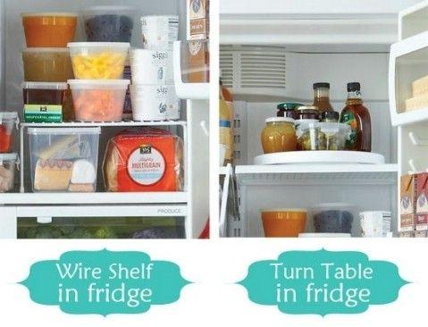 La organización del Refrigerador - Top 58 ideas más creativas Home-Organización y Proyectos de bricolaje