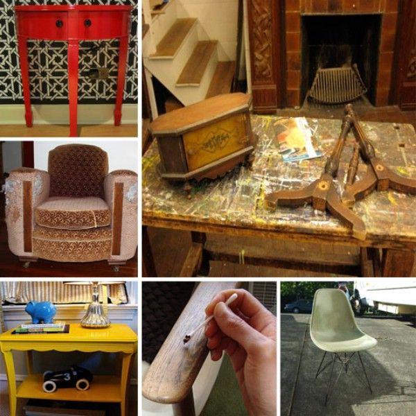 30 maneras de reparar, restaurar, o rehacer cualquier pedazo de muebles - Top 60 muebles Makeover bricolaje Proyectos y Secretos de negociación