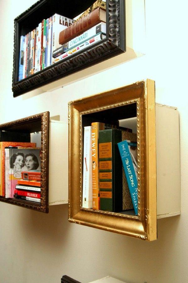 Encantadores bricolaje estantes marco de imagen - Top 60 muebles Makeover bricolaje Proyectos y secretos de negociación