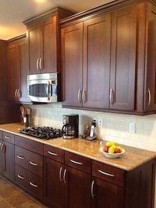 La elección de los gabinetes de cocina - Single Panel Doors