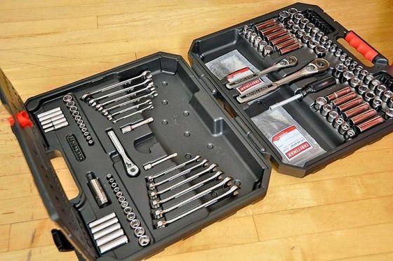 Craftsman 145 piezas Mecánico's Tool Kit Review