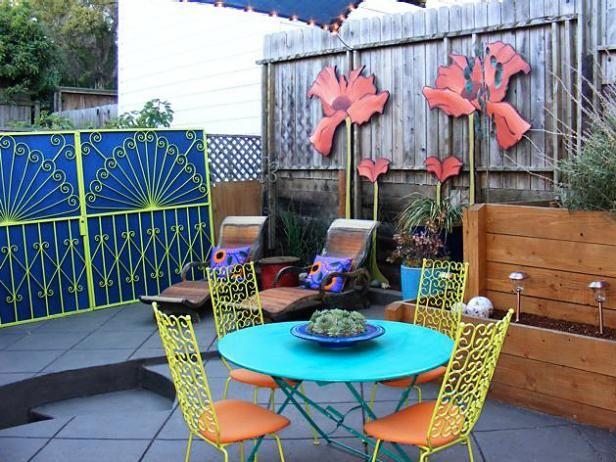 Fotografía - Transformando patios con acentos de pintura y colores