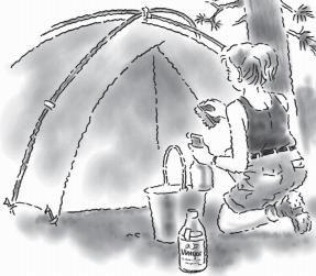 Usos de vinagre: Proyectos y actividades al aire libre