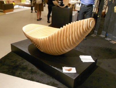 LABworks360-ICFF-2012-ThisIsCollaboration-Marie-Khouri-esculpida-Chapas de madera Chaise