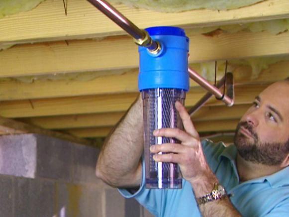 Fácil y barato Filtros de agua de bricolaje
