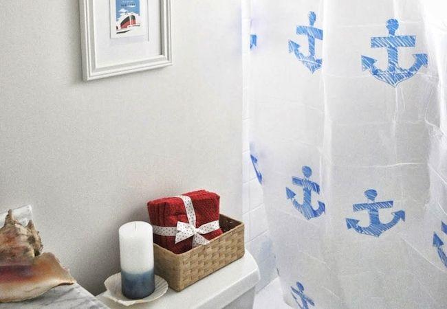 Cómo hacer una cortina de ducha - Stencil