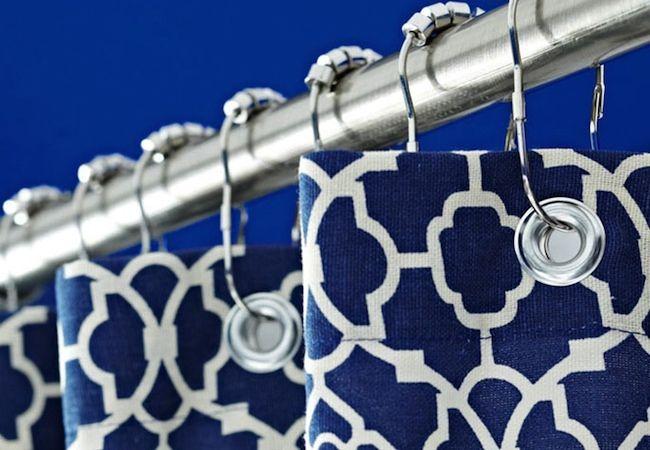 Cómo hacer una cortina de ducha - Panel de Ventana