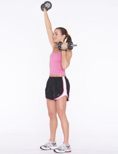 Extender el brazo derecho hacia arriba por encima.